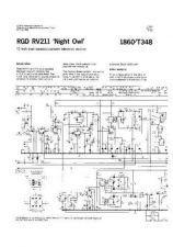 Buy RGD. NIGHT OWL. Vintage Wireless. Service Data. by download Mauritron #306213