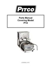 Buy Pitco P14 P-14 Service Manual by download Mauritron #328812