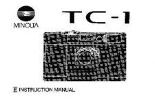 Buy Konica TC-1 Camera Operating Guide by download Mauritron #320789