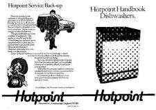 Buy Hotpoint 71340 Dishwasher Operating Guide by download Mauritron #306054