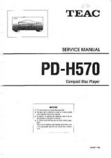 Buy Teac PD-H570 Service Manual by download #336505