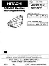 Buy Hitachi VM-E53E Service Manual by download Mauritron #285593