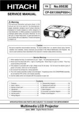 Buy Hitachi CPS210W (C10S) Service Manual by download Mauritron #289120