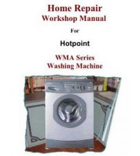Buy Hotpoint WMA33 Washer Service Manual by download Mauritron #314901