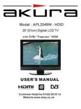 Buy Akura APL2049W-HDID-IB Service Manual by download Mauritron #330283