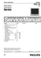 Buy Philips TE3.1ECA Service Manual by download Mauritron #323683
