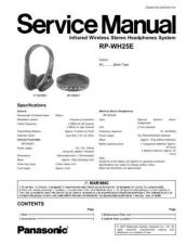 Buy Sharp RP-WH25E Manual by download Mauritron #298512