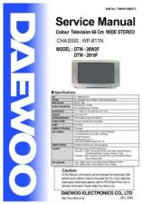 Buy Daewoo WP811 Service Manual by download Mauritron #322366