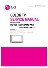 Buy LG 29FS2AMB Service Manual by download Mauritron #322461