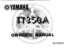 Buy Yamaha 3GJ-28199-21 Motorcycle Manual by download #334091