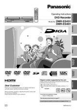 Buy Panasonic DMR-ES35VEG Manual by download Mauritron #299032