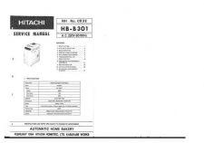 Buy Hitachi HB-B301 Service Manual by download Mauritron #285369