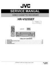 Buy JVC HR-V525SEF Service Manual by download Mauritron #281436