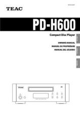 Buy Teac PDH300EFGIS Operating Guide by download Mauritron #319101