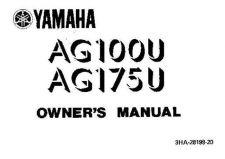 Buy Yamaha 3HA-28199-20 Motorcycle Manual by download #334103