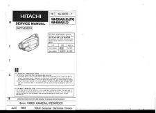 Buy Hitachi VM-7300A-2 Service Manual by download Mauritron #286753
