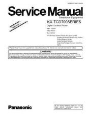 Buy Panasonic KX-TCD535FRM. CDC-PAN13 Manual by download Mauritron #300244