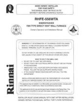 Buy Honeywell rhfe556wta Operating Guide by download Mauritron #317041