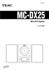 Buy Teac MC-DX40DAB QuickGuideE Operating Guide by download Mauritron #318992