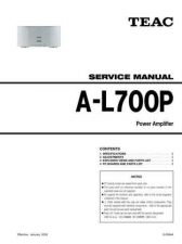 Buy Teac AL700P Service Manual by download Mauritron #319297