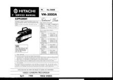 Buy Hitachi VTF333A2 Service Manual by download Mauritron #287161