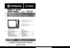 Buy Hitachi CT2260 Service Manual by download Mauritron #289537