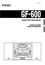 Buy Teac GF-650QuickGuideEFS Operating Guide by download Mauritron #318776
