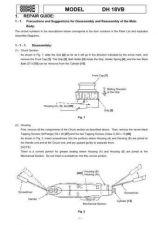 Buy Hitachi DH18VB Tool Service Manual by download Mauritron #319802