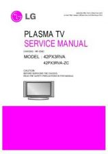 Buy LG 42PX3RVA Service Manual by download Mauritron #322480