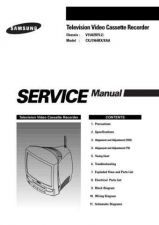 Buy Samsung CXJ1964 Service Manual by download Mauritron #332803