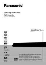Buy Panasonic DMR-EX95VEG Manual by download Mauritron #299047