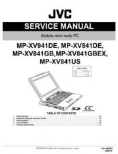 Buy JVC XE003 Service Manual by download Mauritron #278413