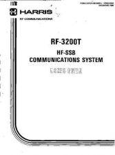 Buy Harris RF-3200 Users Manual by download Mauritron #338033