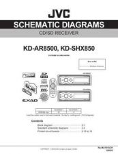 Buy JVC KD-SHX850 _sch Service Manual by download Mauritron #275244