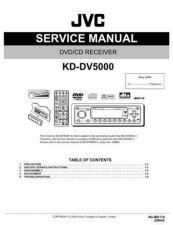 Buy JVC KD-DV5000-3 Service Manual by download Mauritron #281808