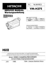 Buy Hitachi VME575LE- Service Manual by download Mauritron #285596