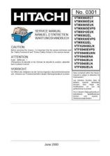 Buy Hitachi VTM135A2 Service Manual by download Mauritron #287321