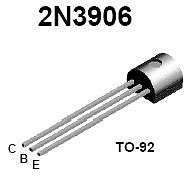 Buy Transistor - 2N3906 PNP (TO-92) - 30 Pieces
