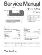 Buy Panasonic SE-CH404 Manual by download Mauritron #301697