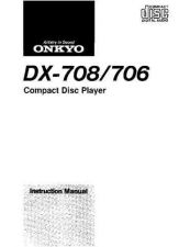 Buy Onkyo DX7110om Service Manual by download Mauritron #330865
