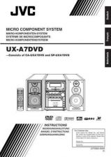 Buy JVC UX-A7DVD-5 Service Manual by download Mauritron #284120