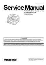 Buy Panasonic FLB801SP Manual by download Mauritron #299301