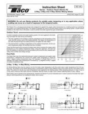 Buy Honeywell taco iseriesmixingvalves Operating Guide by download Mauritron #317128