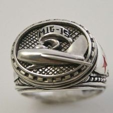 Buy Mig15 Dogfighter Mens ring sterling silver 925