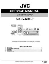 Buy JVC KD-DV4288UF Service Manual by download Mauritron #281804
