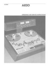 Buy STUDER A820 Operating Guide and Upd93 by download Mauritron #314611