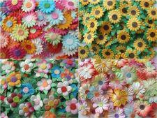 Buy Mini DIY 100 Artificial Mulberry Paper Flowers Scrapbook Craft Wedding 1.5cm New