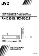Buy JVC RX-D301S - RX-D302B-7 Service Manual by download Mauritron #283244