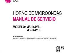 Buy LG MS-144YLL Manual by download Mauritron #305819