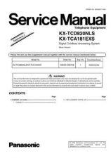 Buy Panasonic TCD820NL_1 Manual by download Mauritron #302153